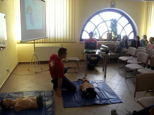 Kurs pierwszej pomocy [BMP św. Ducha]
