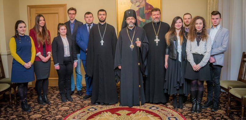 Spotkanie Arcybiskupa Jakuba z  zarządem diecezjalnego Bractwa