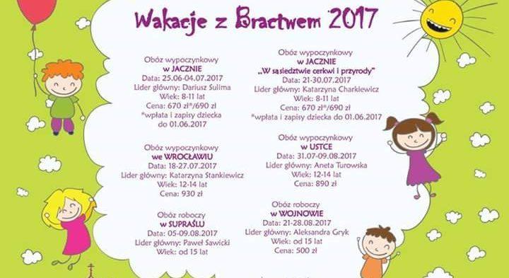 Oferta obozów dla dzieci